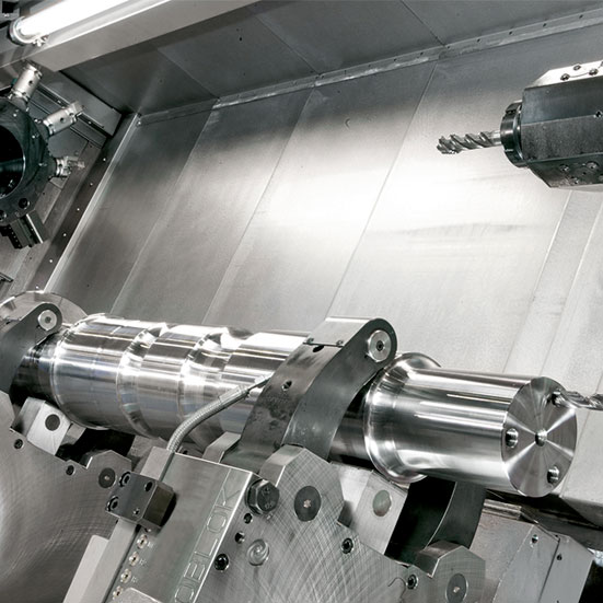 Lucchini Automatic line for the production of axles for high-speed trains