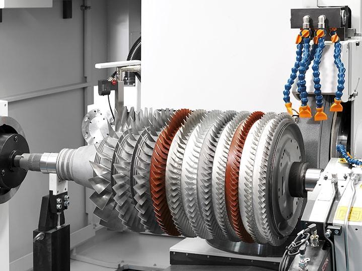 Energia sorkuntza muntatutako gas turbinen errotoreak DANOBAT