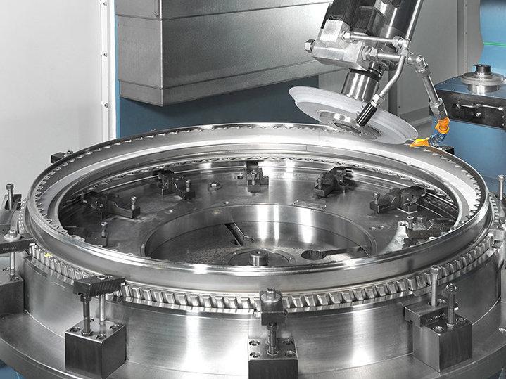 Aeroespacial discos de turbina DANOBAT