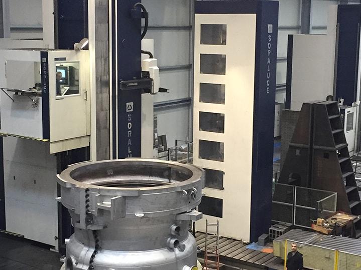 Energia sorkuntza turbinen karkasa FXR-16000-W SORALUCE