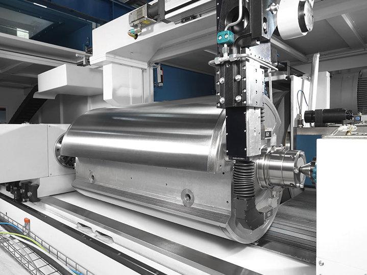 Bienes de equipo rodillos de imprenta DANOBAT