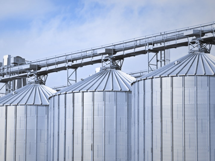 Sheet metal silos DANOBAT