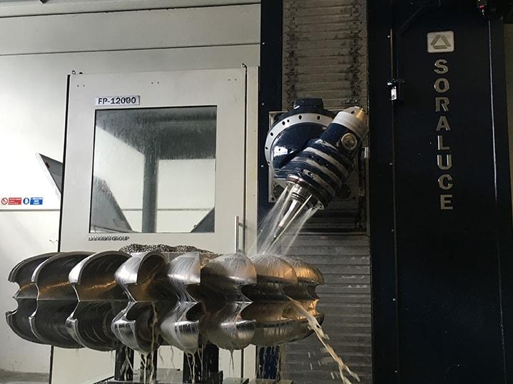 Energia sorkuntza pelton turbina SORALUCE