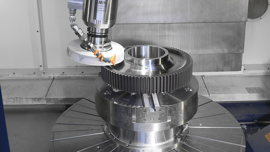 Grupos Diferenciales Customised grinding machines for machining gears 1
