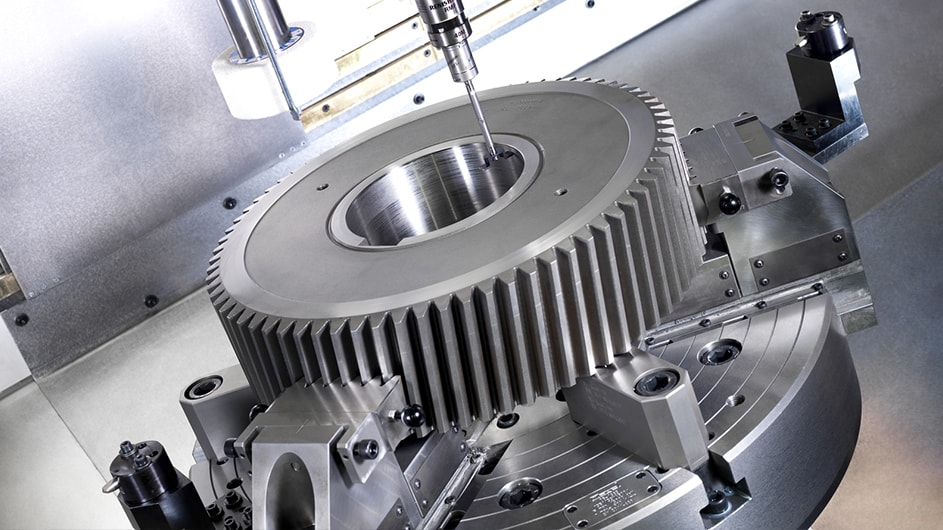 Sew Eurodrive Complete machining of engine gears in a single set-up 1