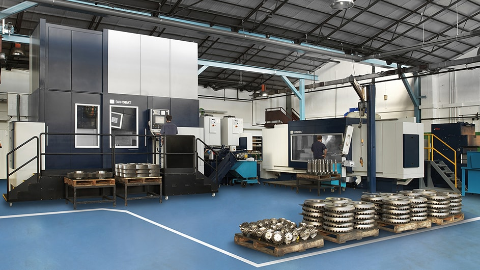 Grupos Diferenciales Customised grinding machines for machining gears 2