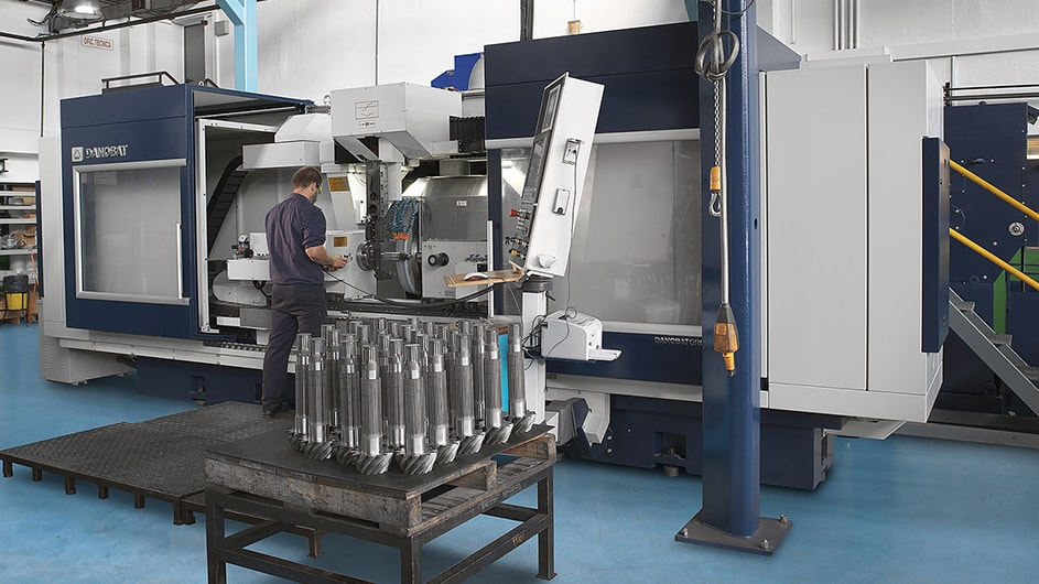 Grupos Diferenciales Customised grinding machines for machining gears 3