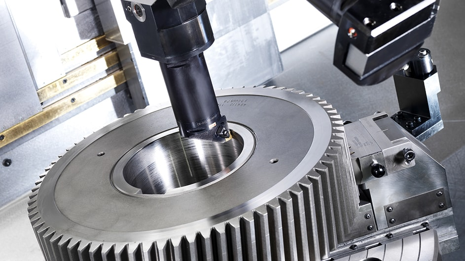 Sew Eurodrive Complete machining of engine gears in a single set-up 3