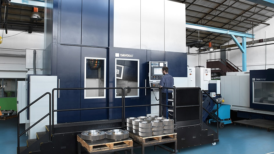 Grupos Diferenciales Customised grinding machines for machining gears 4