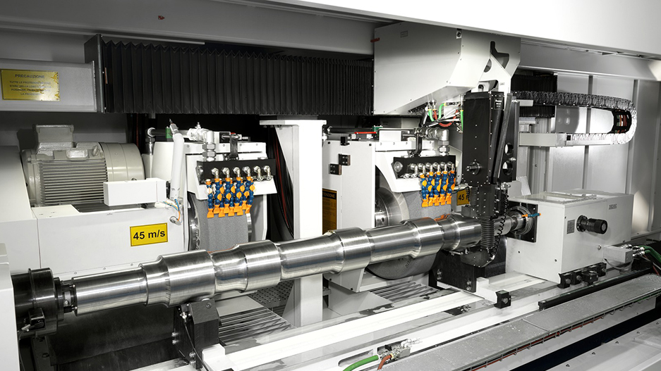 Lucchini Automatic line for the production of axles for high-speed trains 3