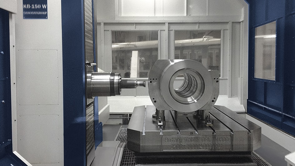 GENERAL ELECTRIC satisface la creciente demanda de producción de componentes cada vez mayores 3