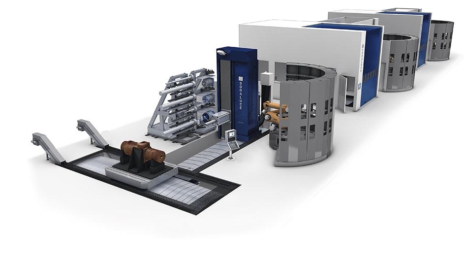 Компания GENERAL ELECTRIC обеспечивает увеличивающийся спрос на производство более крупных деталей, часть 4