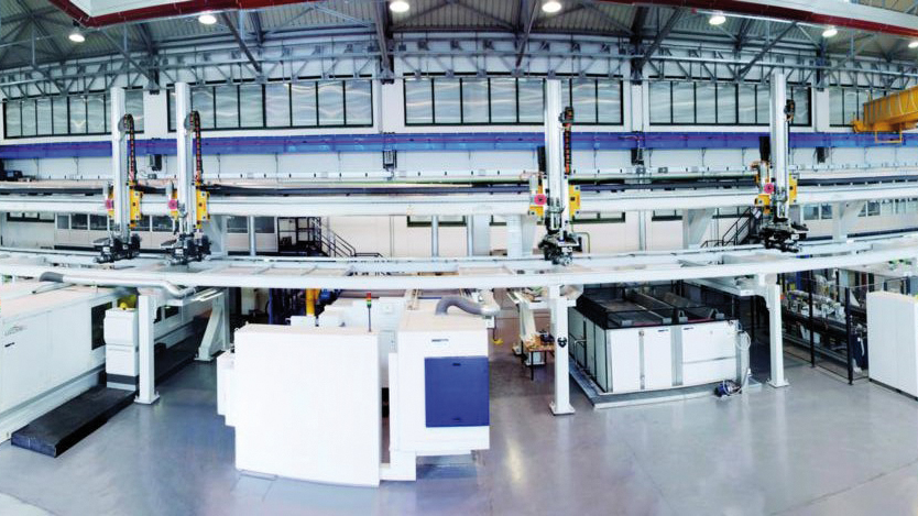 Lucchini Automatic line for the production of axles for high-speed trains 2