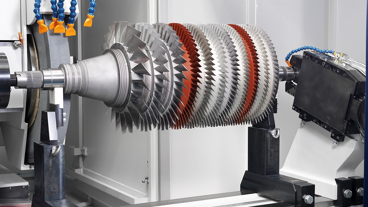 Assembled gas turbine rotor DANOBAT