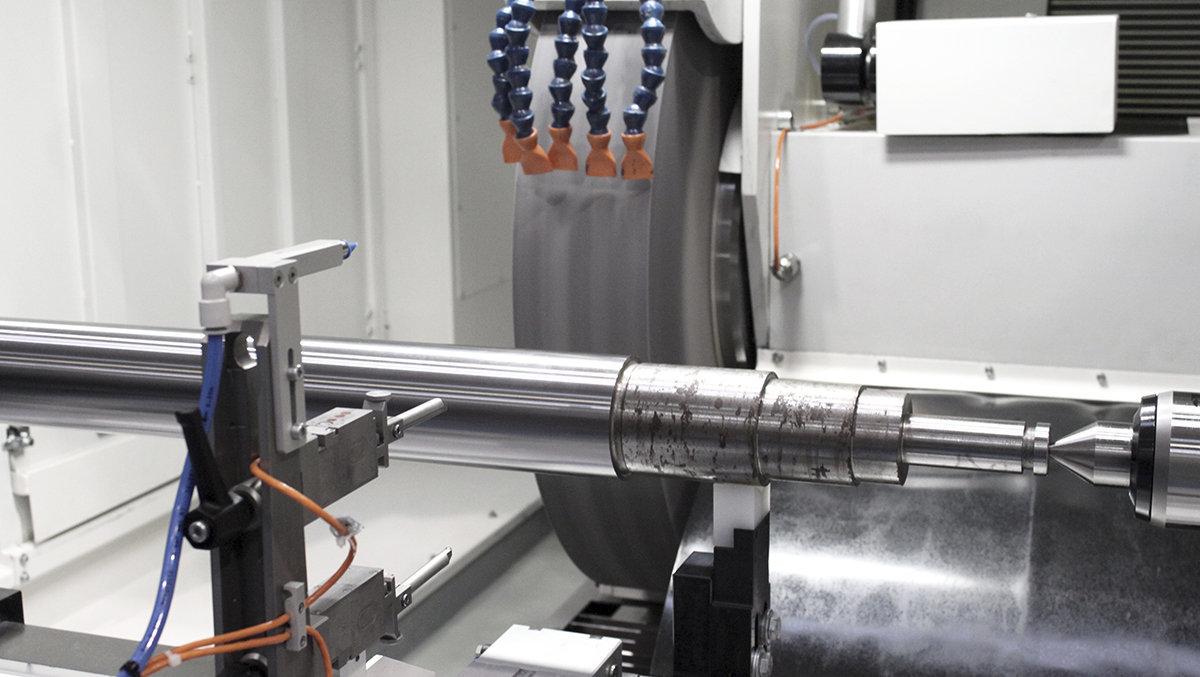 Hydraulic cylinders - External grinding DANOBAT