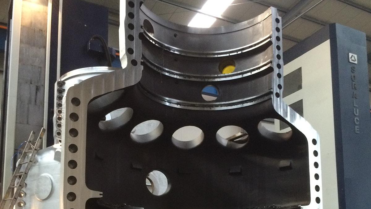 Энергетика - Кожух турбины - Модель FXR-16000-W - Компания SORALUCE