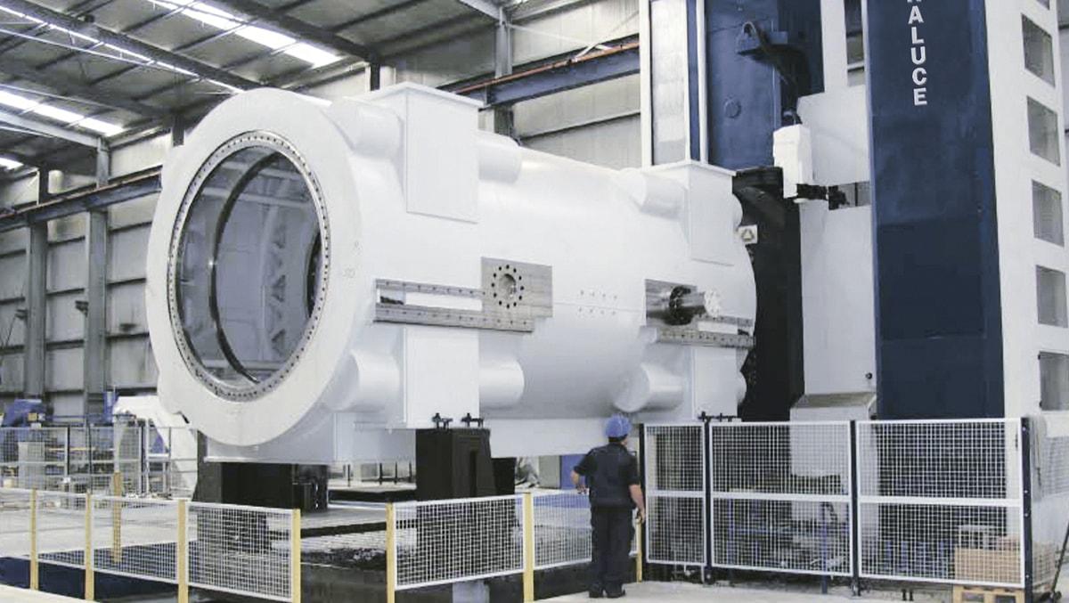 Energy turbine casing FXR-16000-W SORALUCE
