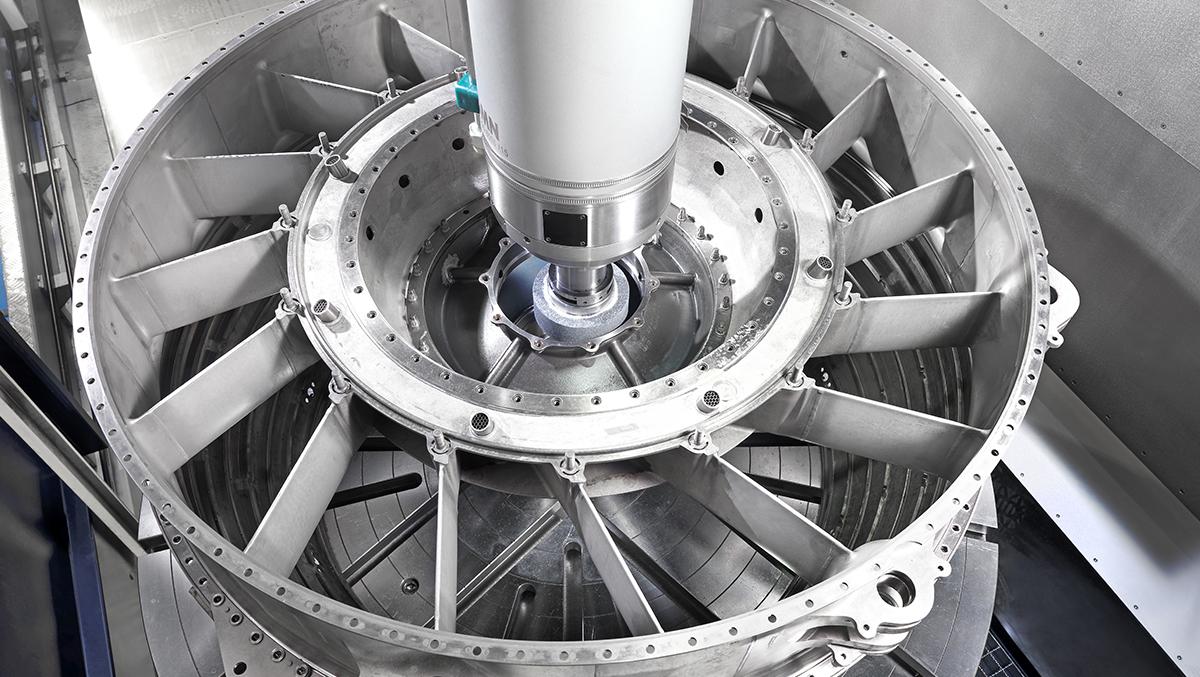 Compressor stators DANOBAT