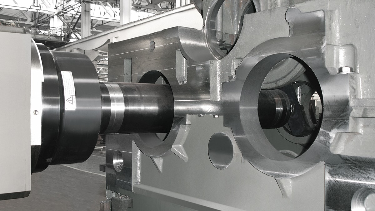 Eisenbahnbauindustrie Getriebe SORALUCE