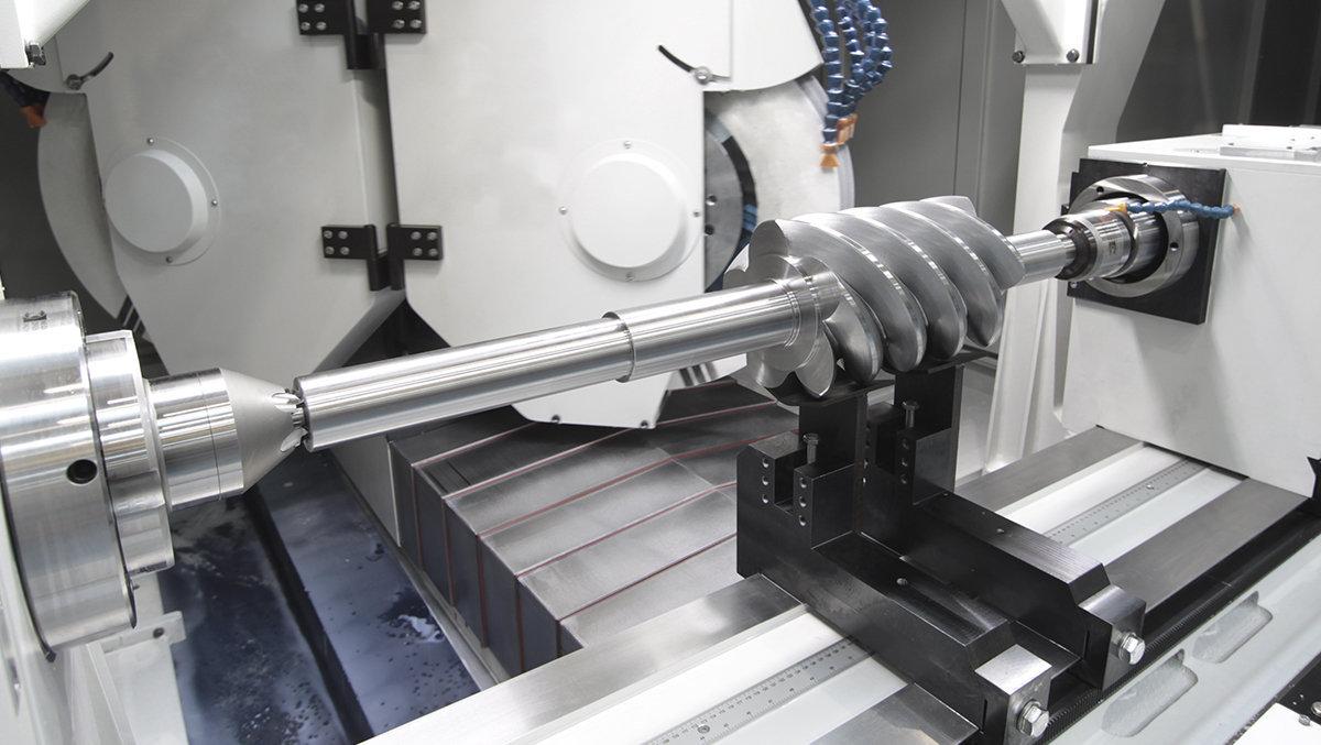 Screw compressors - External grinding DANOBAT