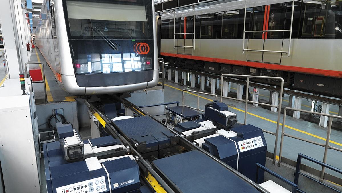 Maquinaria para el mantenimiento del material rodante 1