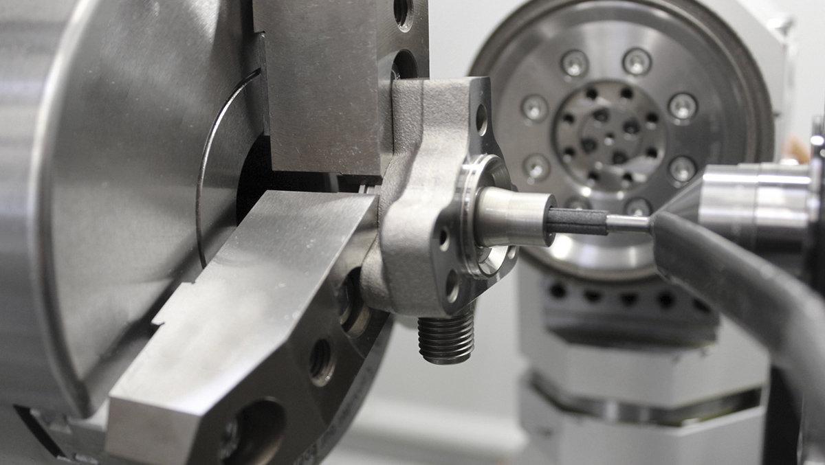 Diesel injekzioko ponparen ardatza - Barrualdeak artezteko makina DANOBAT