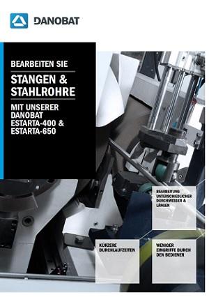 Stangen-Stahlrohre mit Unserer DANOBAT ESTARTA-400 und ESTARTA-650