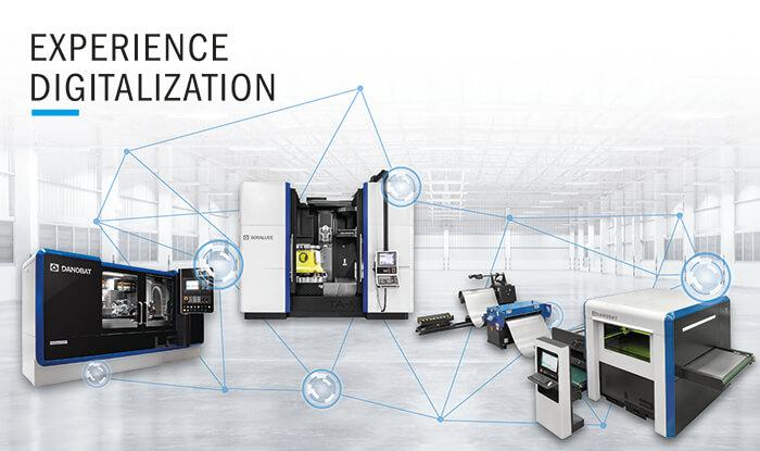 DANOBATGROUP presenta en la BIEMH sus últimas soluciones de fabricación avanzada y la consolidación de sus servicios para la industria digital