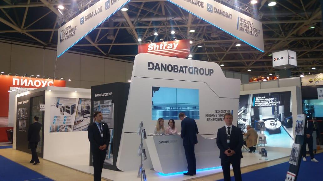 DANOBATGROUP presenta los últimos desarrollos de DANOBAT y SORALUCE en la feria METALLOBRABOTKA de Moscú
