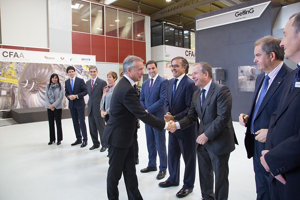 DANOBATGROUP CFAAren inaugurazioan izan da, aeronautika sektorean garapen teknologikoa bultzatzeko espazio bat