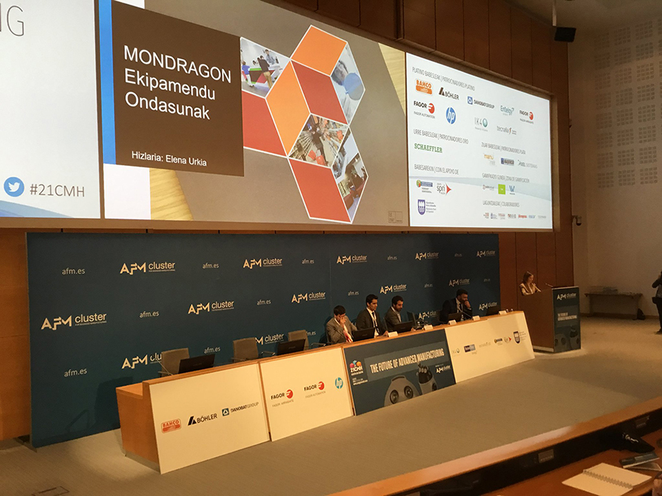DANOBATGROUP´s commitment to the digital industry presented at the Congress of Advanced Manufacturing and Machine Tools