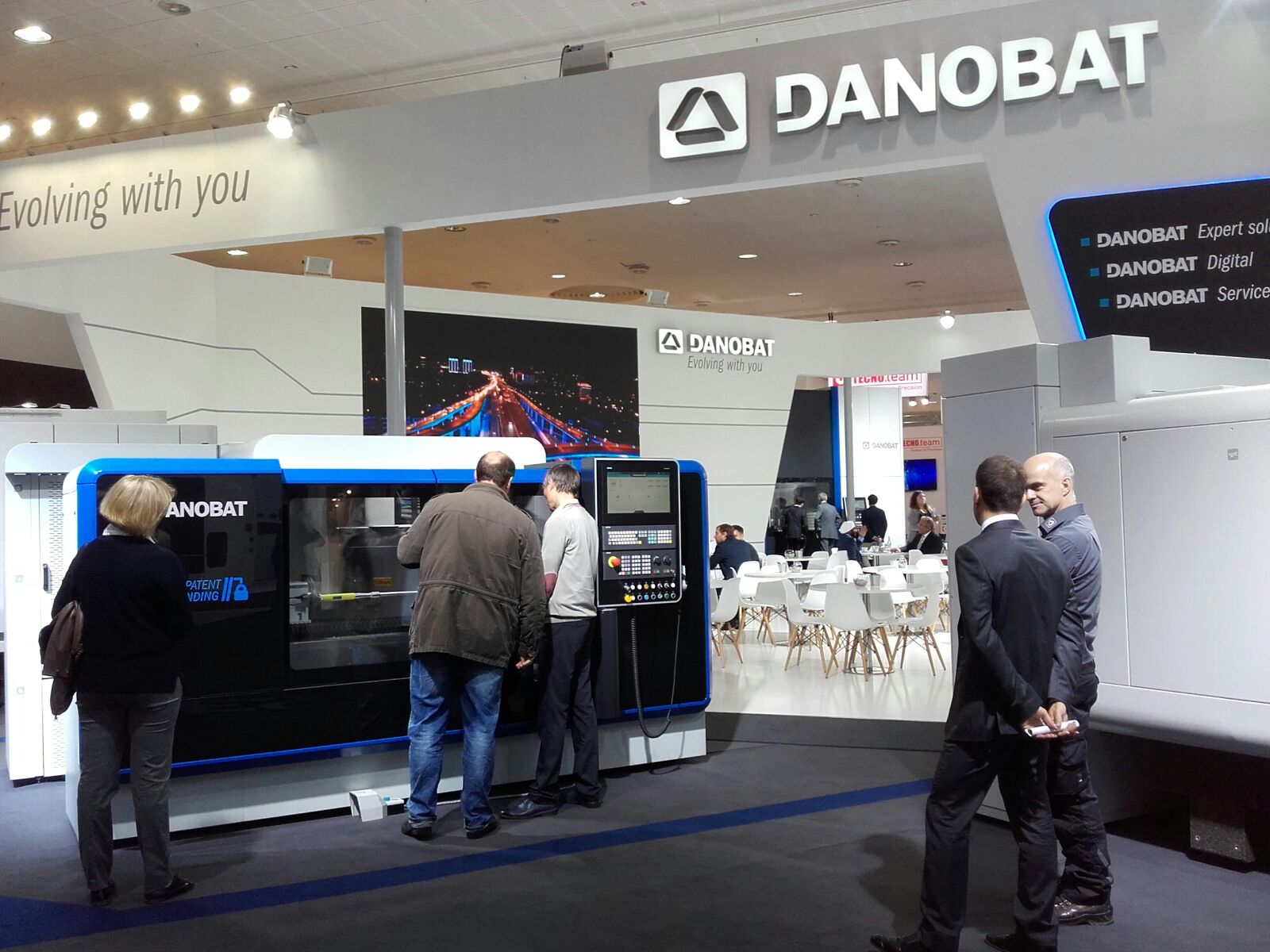 DANOBAT showcases its focus on industrial digitalisation and the development of advanced manufacturing solutions at EMO in Hannover