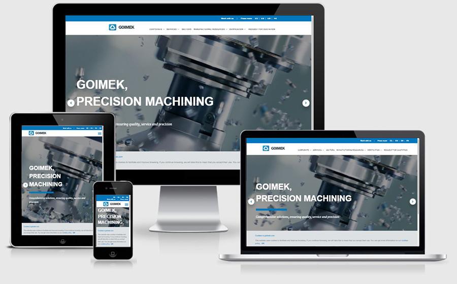 GOIMEK renews its website www.goimek.com
