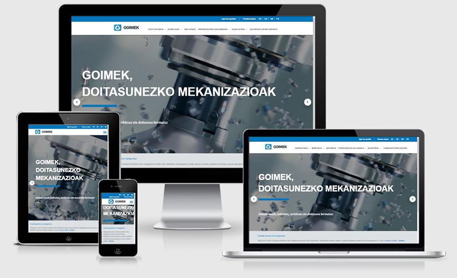GOIMEKek www.goimek.com webgunea berritu du