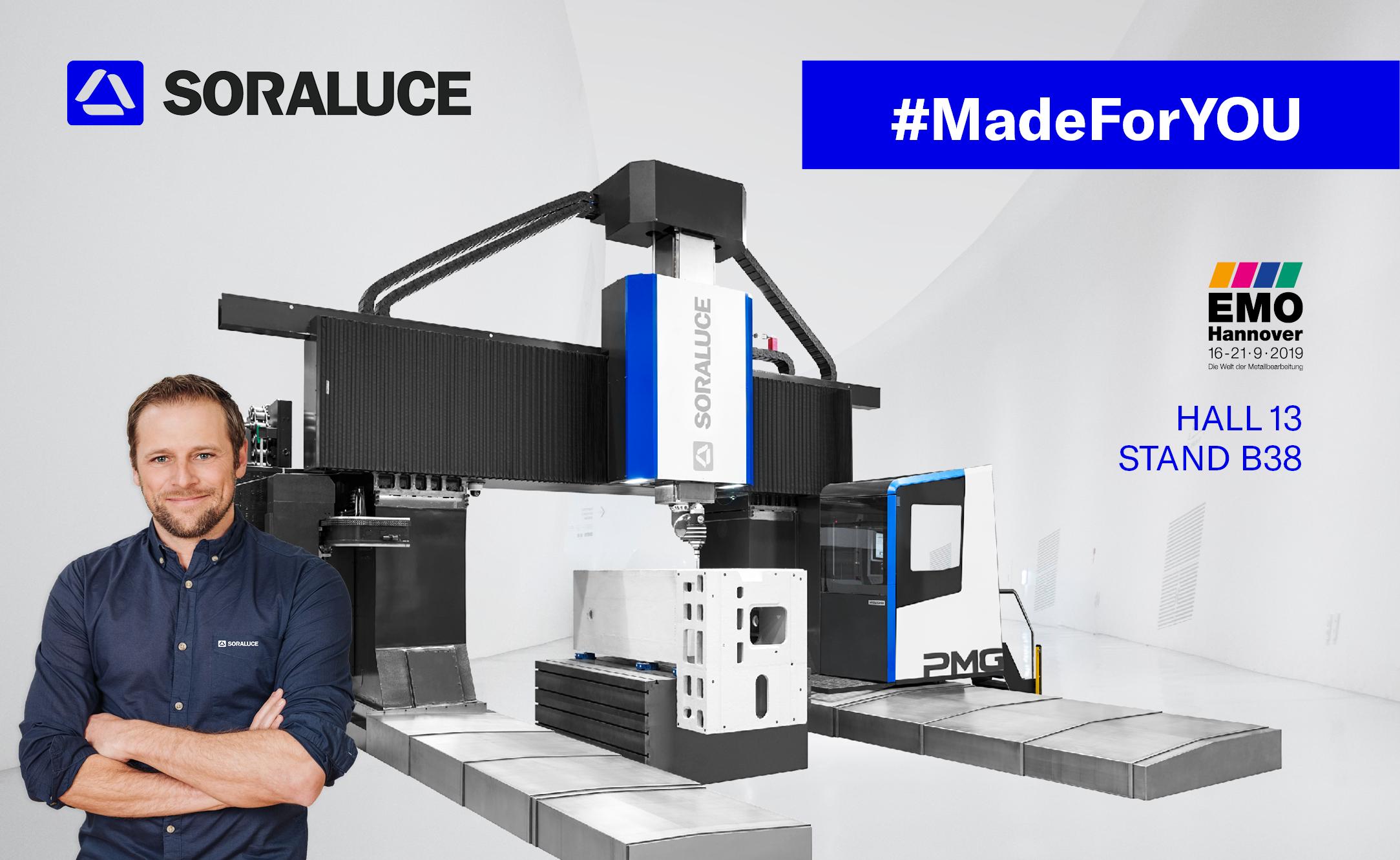 #MadeForYOU - #СоздаёмДляВАС -Каждый день Soraluce повышает эффективность бизнеса своих заказчиков
