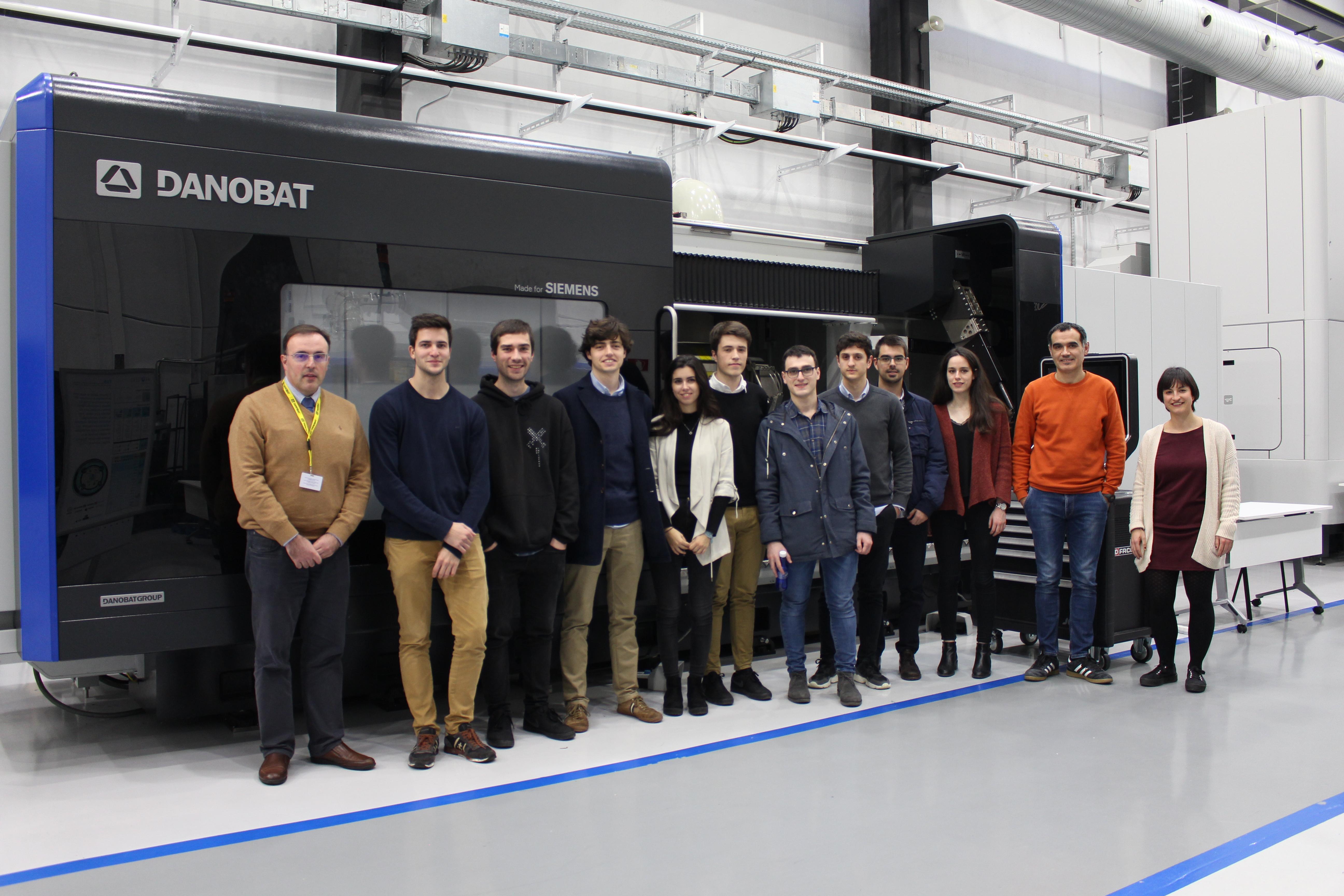 Innovación tecnológica en las aulas: Danobatgroup premia un proyecto diseñado por estudiantes de Tecnun