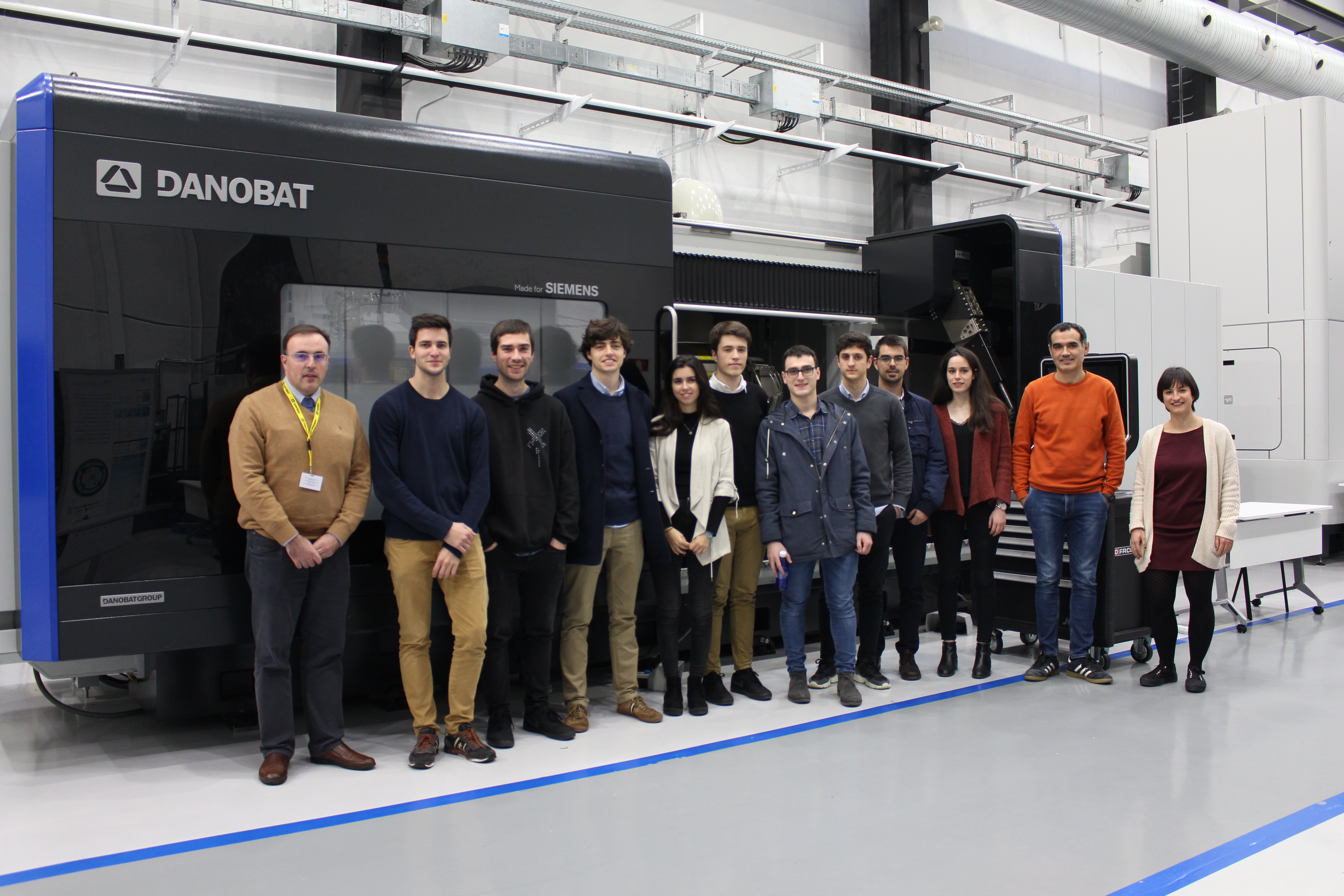 Technological innovation in the classroom: Danobatgroup awards a project designed by Tecnun students