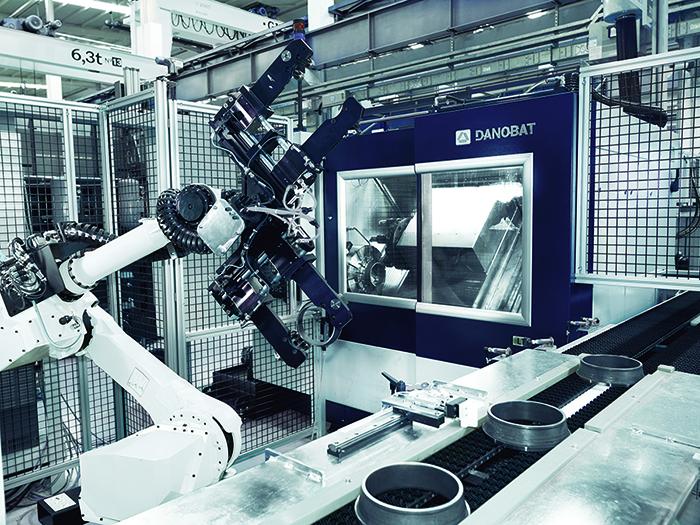 DANOBAT desarrolla un torno de alta precisión para  NBI Bearings Europe