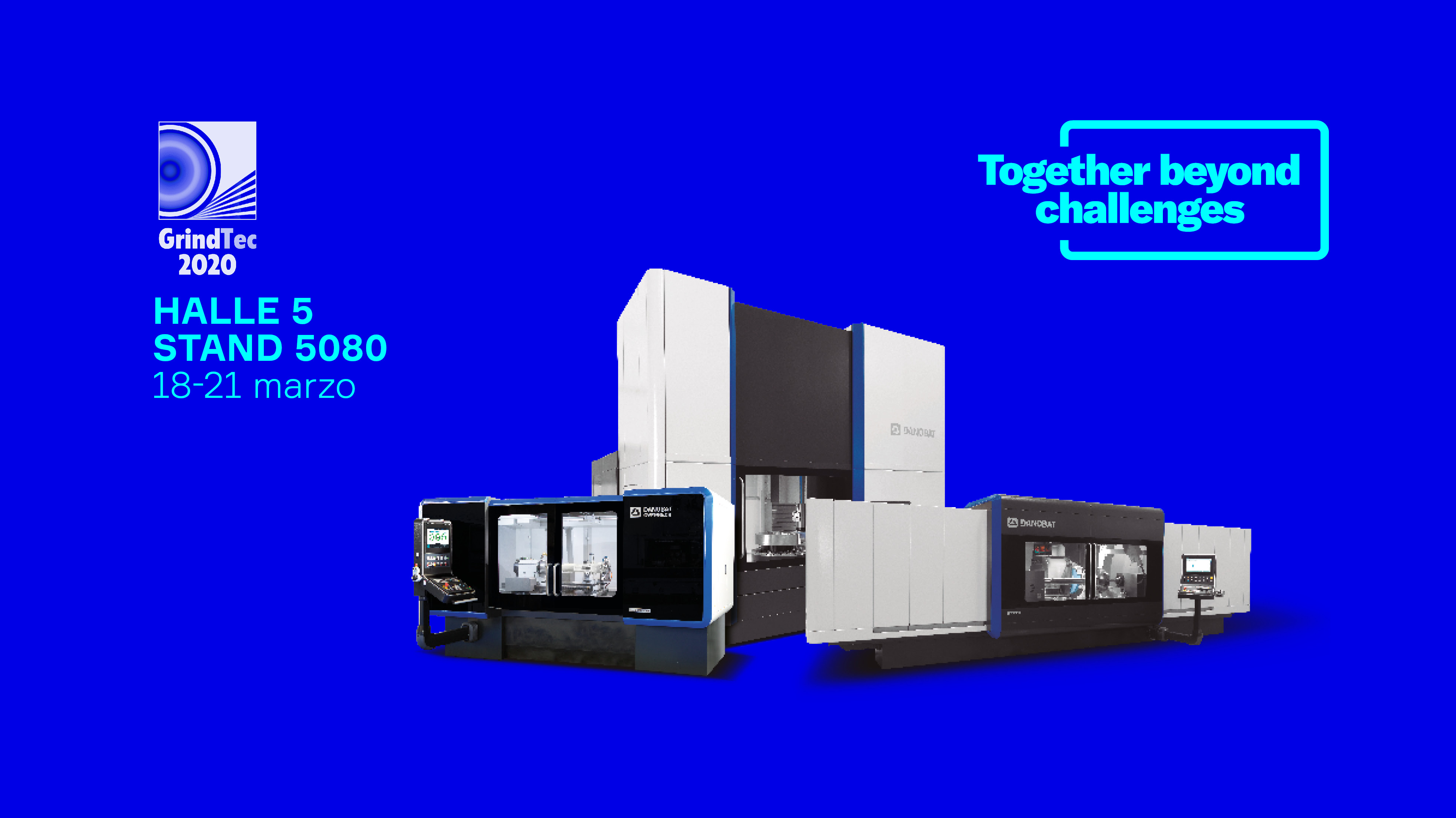 DANOBAT exhibits its latest precision solutions at the GRINDTEC