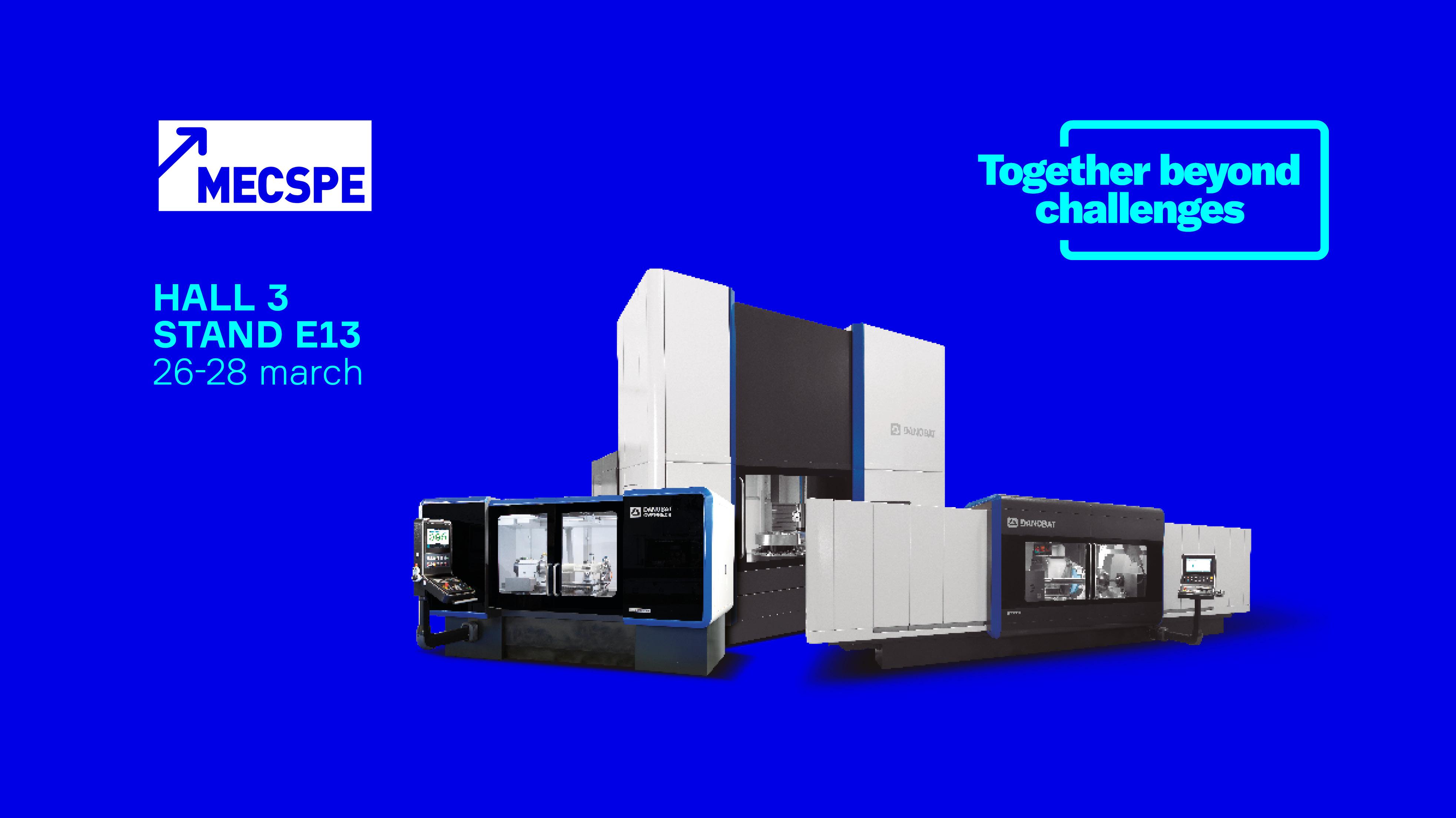 Danobat präsentiert auf der Mecspe seine neuesten Lösungen im Bereich Hochpräzisions- und Produktionsschleifen.