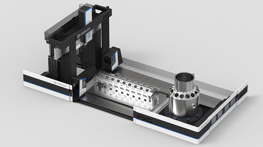 SORALUCE presents the new multitasking gantry type portal milling turning machine