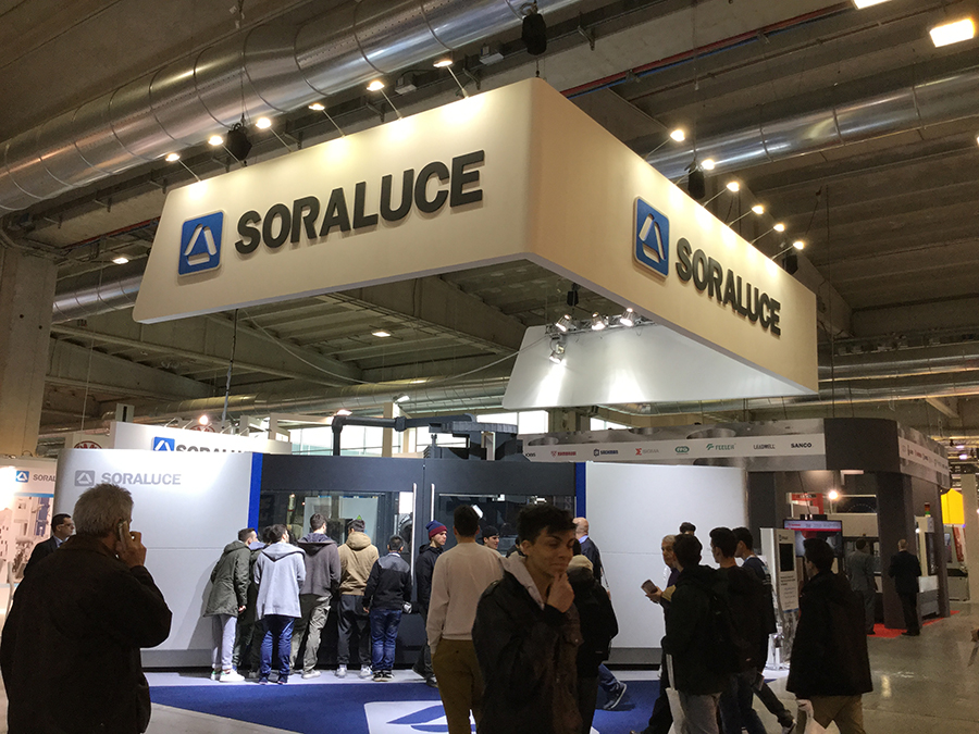 Technological innovation and Industry 4.0, main lines shown by SORALUCE at Mecspe