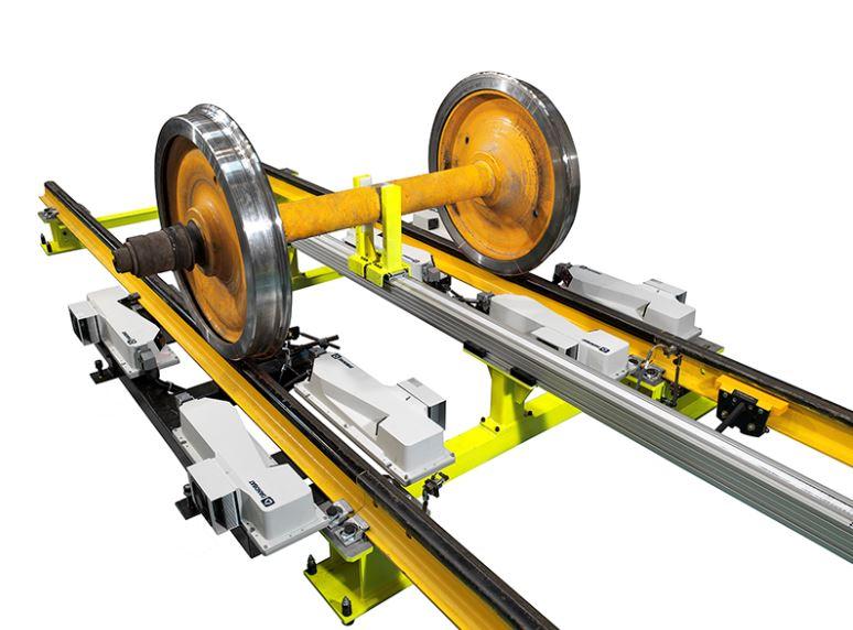A DANOBAT tandem underfloor wheel lathe to be installed in the UK