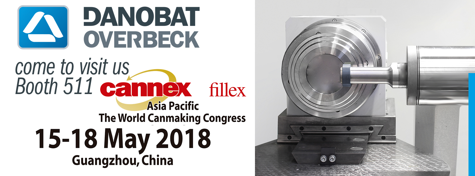 DANOBAT-OVERBECK HIGH PRECISION GRINDING MACHINES AT CANNEX 2018