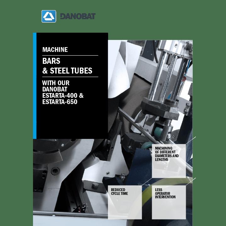 Шлифовальные станки для заготовок и стальных трубопроводов компании DANOBAT ESTARTA