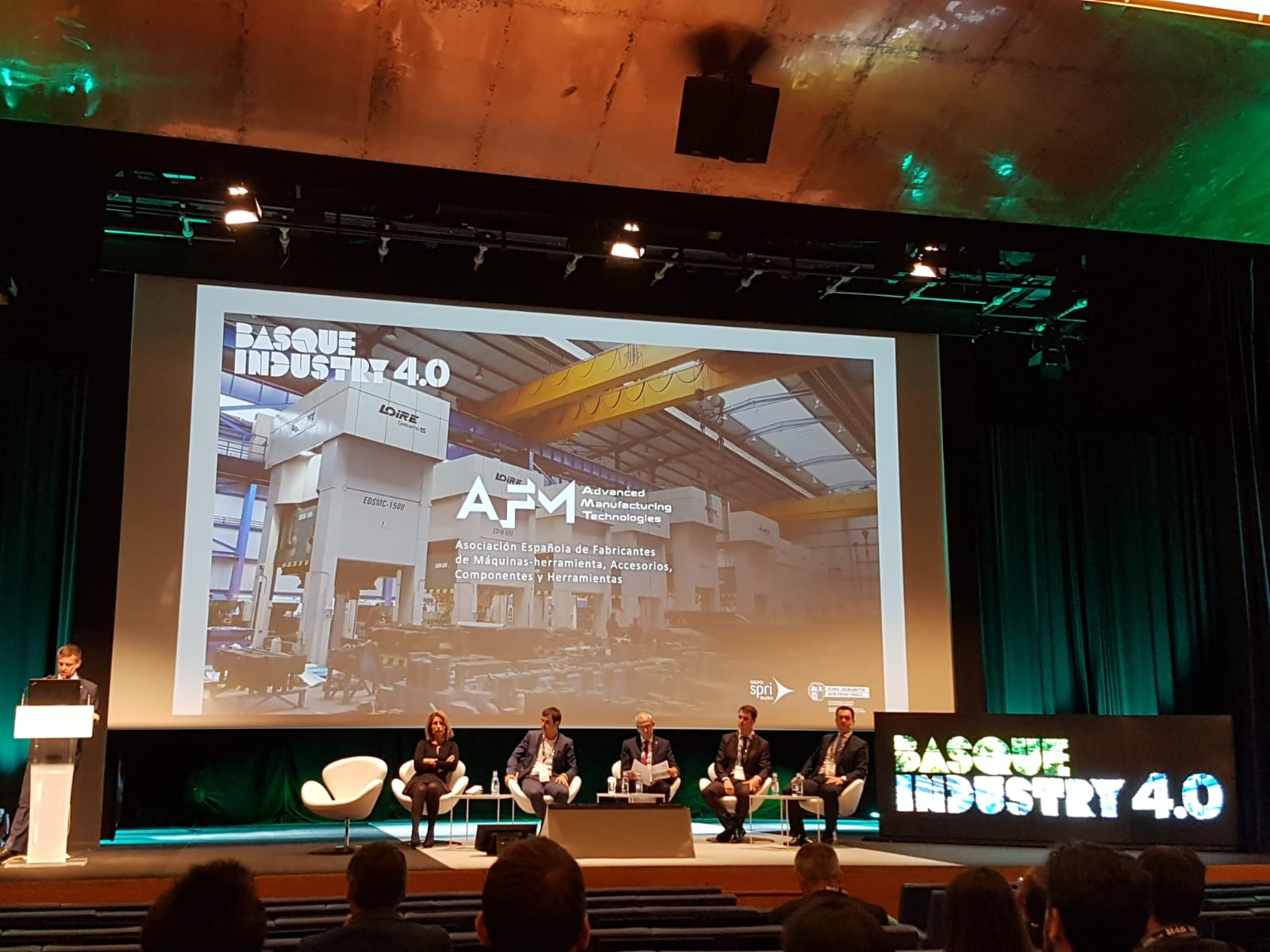 DANOBATGROUP present at the Basque Industry 4.0 event