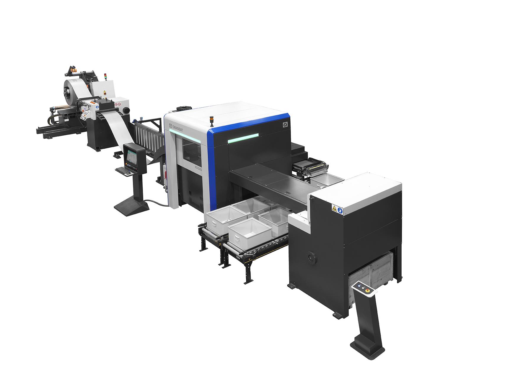 coil fed laser blanking line - DANOBAT LB