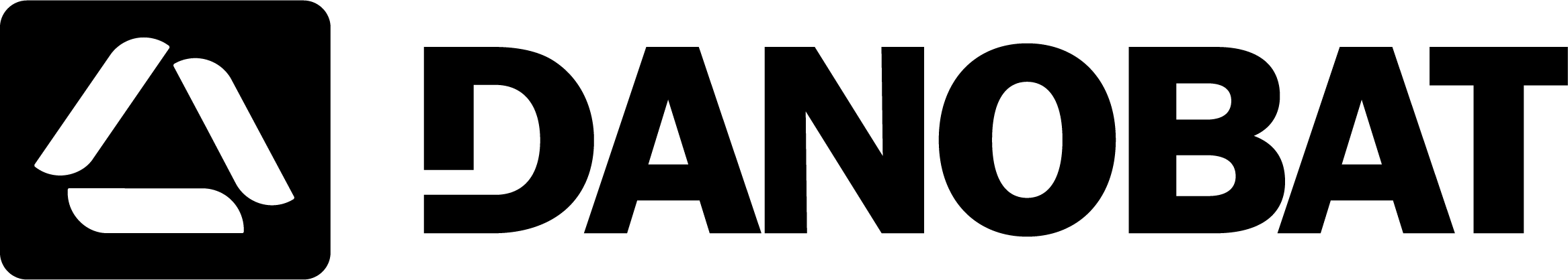 Logo negro DANOBAT
