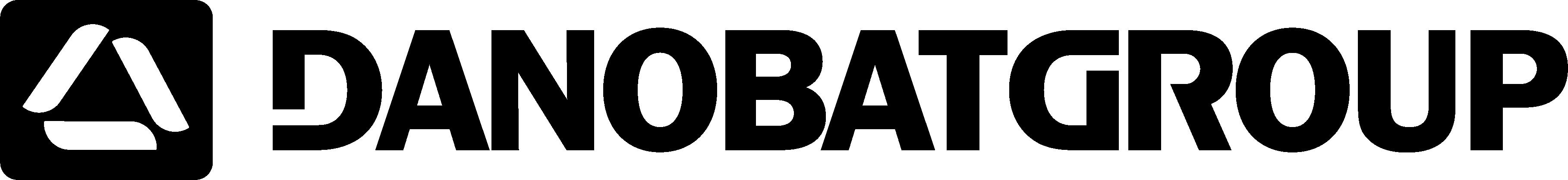 Черно-белый логотип DANOBATGROUP