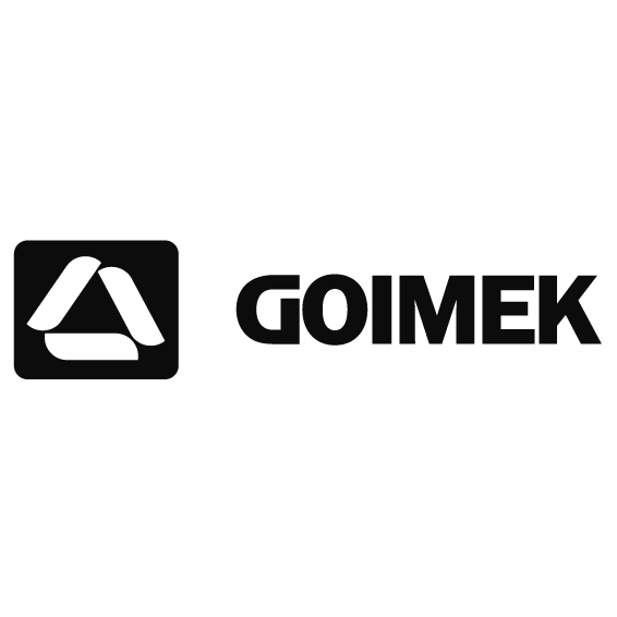 Черно-белый логотип GOIMEK